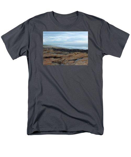 Men's T-Shirt  (Regular Fit) featuring the photograph Beach by Gene Cyr