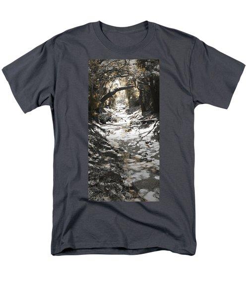 Beach Park Storm Drain Men's T-Shirt  (Regular Fit) by Steve Sperry