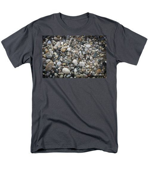 Beach Stones Men's T-Shirt  (Regular Fit)