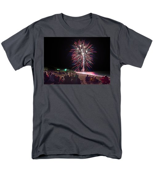 Men's T-Shirt  (Regular Fit) featuring the photograph Beachside Spectacular by Bill Pevlor
