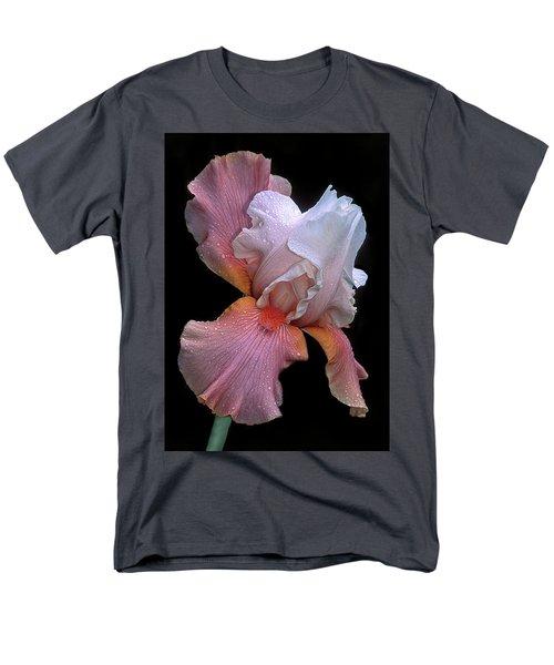 Bearded Iris Men's T-Shirt  (Regular Fit) by Dave Mills