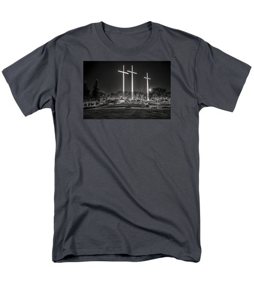 Men's T-Shirt  (Regular Fit) featuring the photograph Bearing Witness In Black-and-white 2 by Andy Crawford