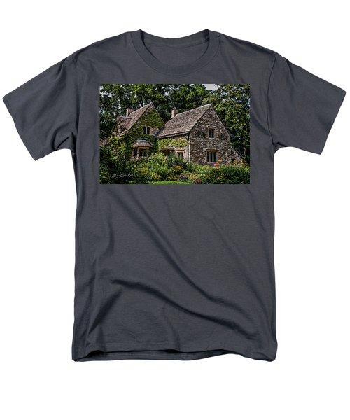 Men's T-Shirt  (Regular Fit) featuring the photograph Beautiful Home by Joann Copeland-Paul