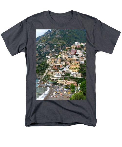 Beautiful Positano Men's T-Shirt  (Regular Fit) by Carla Parris