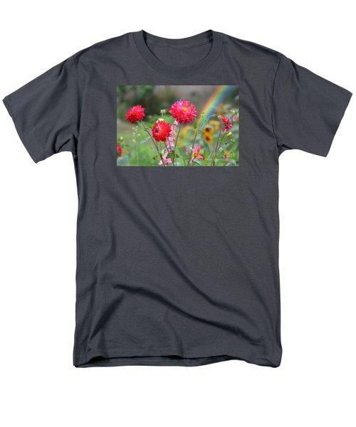 Beautiful Summer Flowers Men's T-Shirt  (Regular Fit) by Jim Fitzpatrick