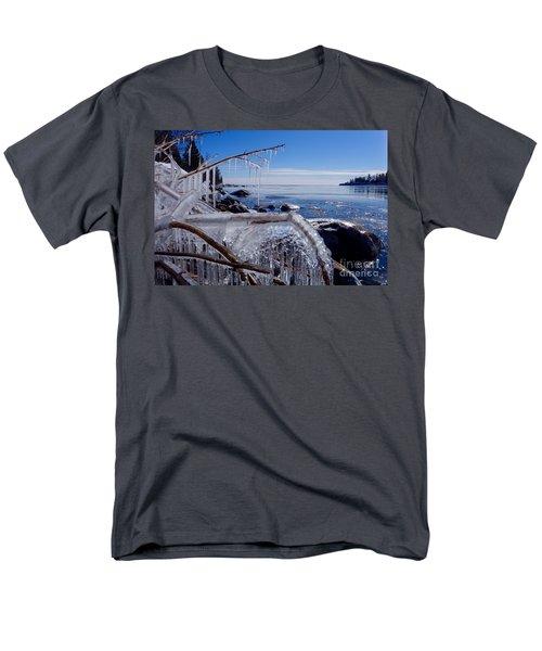 Beautiful Winter Day Men's T-Shirt  (Regular Fit) by Sandra Updyke