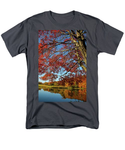 Men's T-Shirt  (Regular Fit) featuring the photograph Beauty Of Fall by Karol Livote