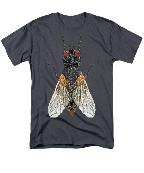 Bedazzled Housefly Transparent Background Men's T-Shirt  (Regular Fit)