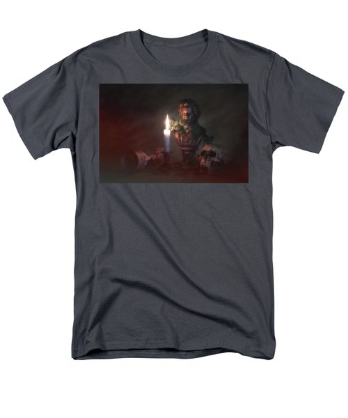 Men's T-Shirt  (Regular Fit) featuring the photograph Beethoven By Candlelight by Tom Mc Nemar