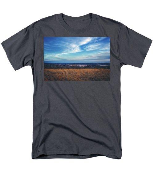 Men's T-Shirt  (Regular Fit) featuring the photograph Before Sunset At Retzer Nature Center - Waukesha by Jennifer Rondinelli Reilly - Fine Art Photography