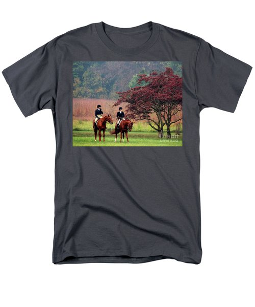 Men's T-Shirt  (Regular Fit) featuring the photograph Before The Hunt by Polly Peacock