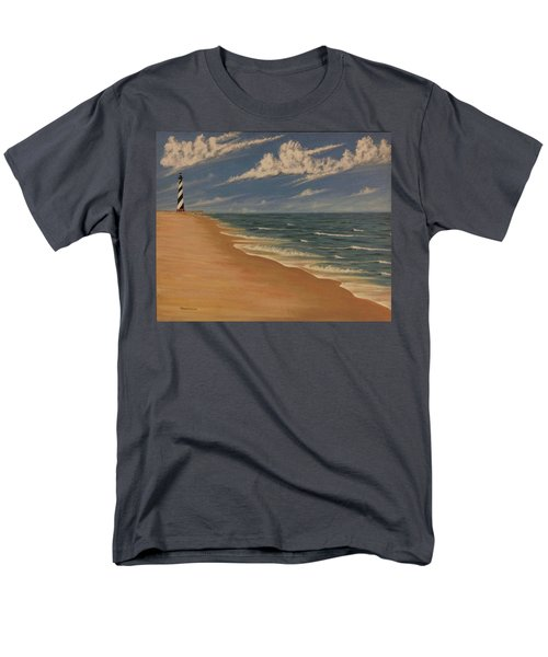 Men's T-Shirt  (Regular Fit) featuring the painting Before The Move by Stacy C Bottoms