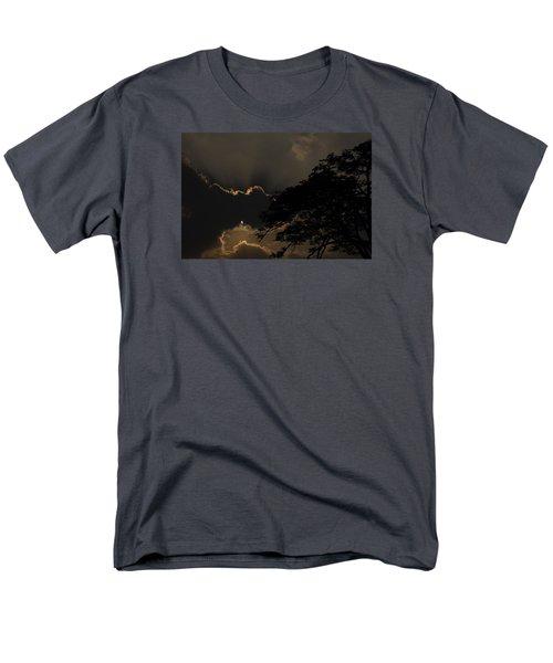 Behind The Cloud Men's T-Shirt  (Regular Fit) by Kiran Joshi
