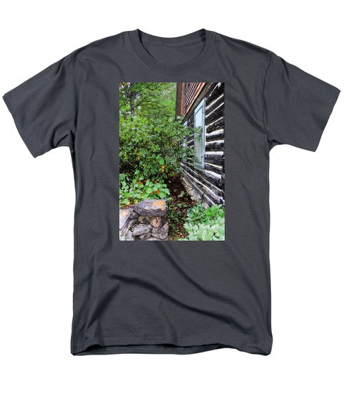 Behind The Dorm At The Clearing Men's T-Shirt  (Regular Fit) by David Blank