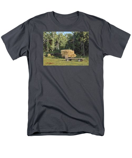 Behind The Grove Men's T-Shirt  (Regular Fit) by Bruce Morrison