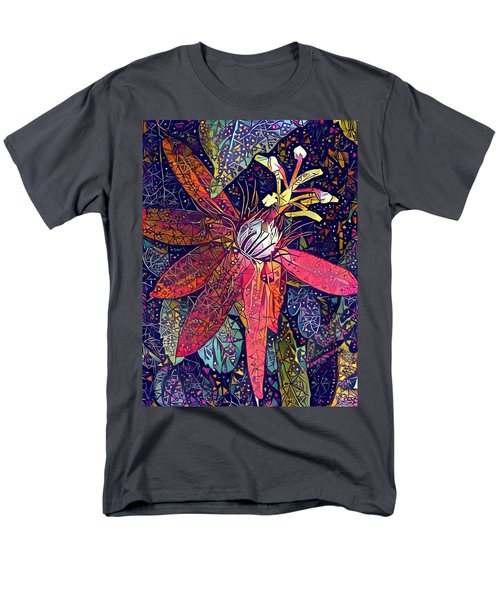 Men's T-Shirt  (Regular Fit) featuring the photograph Bejeweled Passion by Geri Glavis