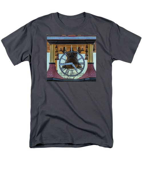 Men's T-Shirt  (Regular Fit) featuring the photograph Bell Lighting by Constantine Gregory