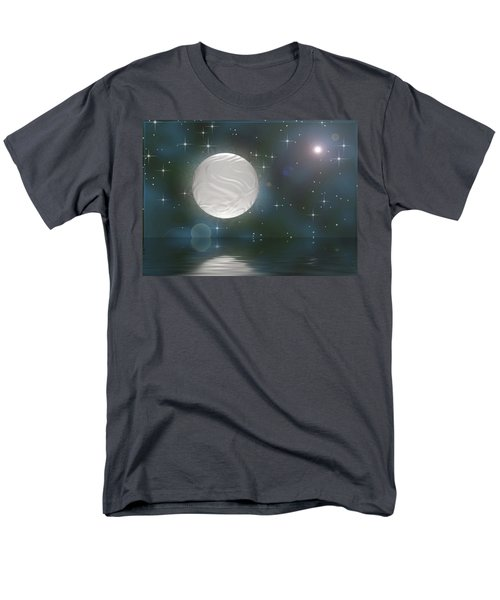 Men's T-Shirt  (Regular Fit) featuring the digital art Bella Luna by Wendy J St Christopher