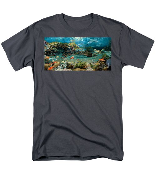 Beneath The Sea Men's T-Shirt  (Regular Fit) by Ruanna Sion Shadd a'Dann'l Yoder