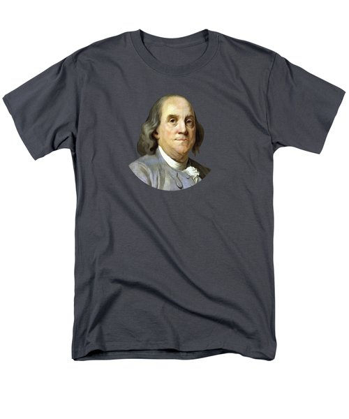 Benjamin Franklin Men's T-Shirt  (Regular Fit) by War Is Hell Store
