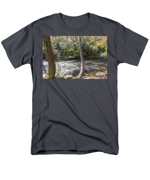 Bent Tree River Men's T-Shirt  (Regular Fit) by Ricky Dean