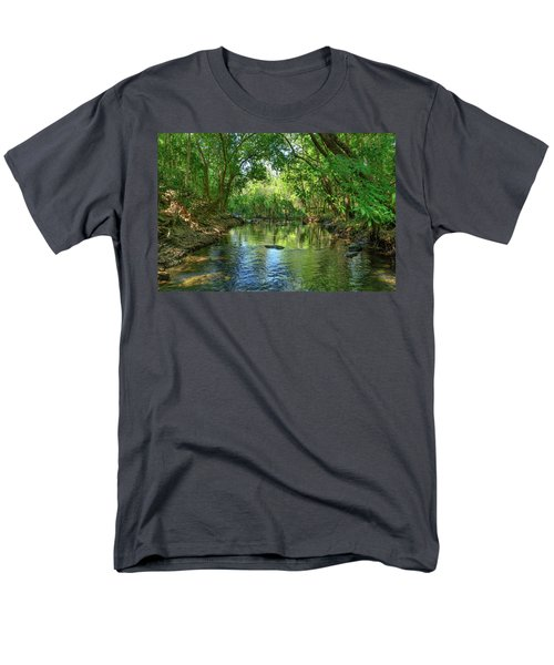 Berry Springs Men's T-Shirt  (Regular Fit) by Racheal Christian