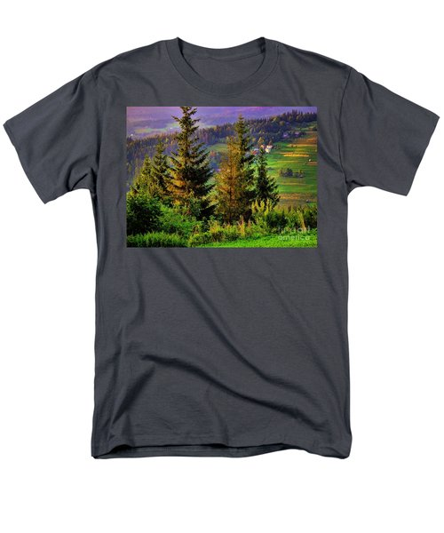 Men's T-Shirt  (Regular Fit) featuring the photograph Beskidy Mountains by Mariola Bitner