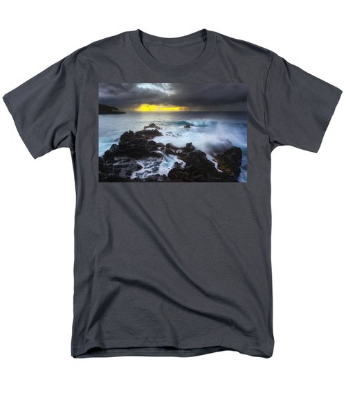 Men's T-Shirt  (Regular Fit) featuring the photograph Between Two Storms by Ryan Manuel