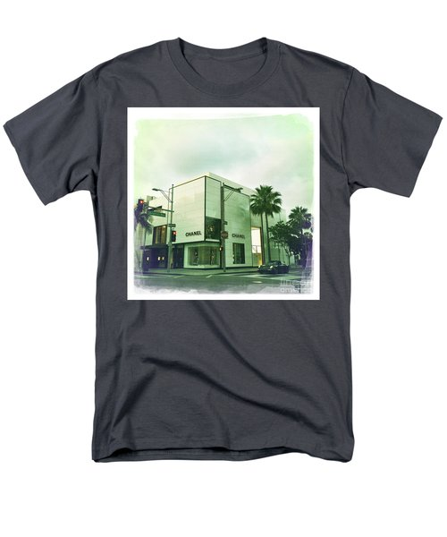 Beverly Hills Rodeo Drive 13 Men's T-Shirt  (Regular Fit) by Nina Prommer