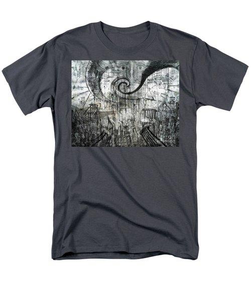 Men's T-Shirt  (Regular Fit) featuring the digital art Beware Of Darkness by Rhonda Strickland