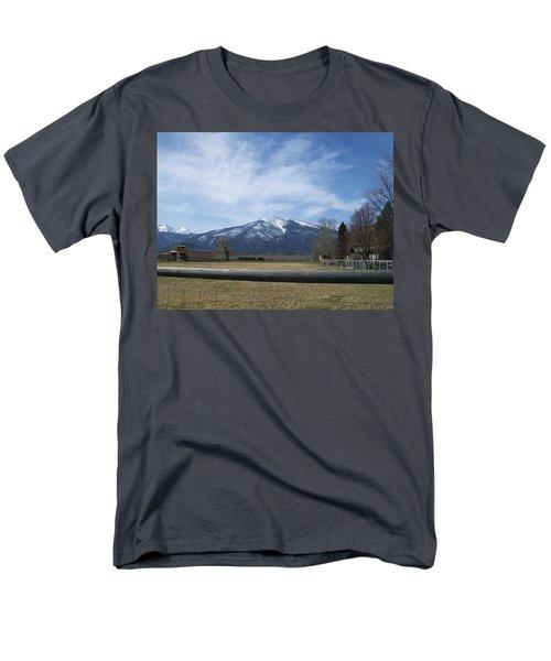 Beyond The Field Men's T-Shirt  (Regular Fit) by Jewel Hengen