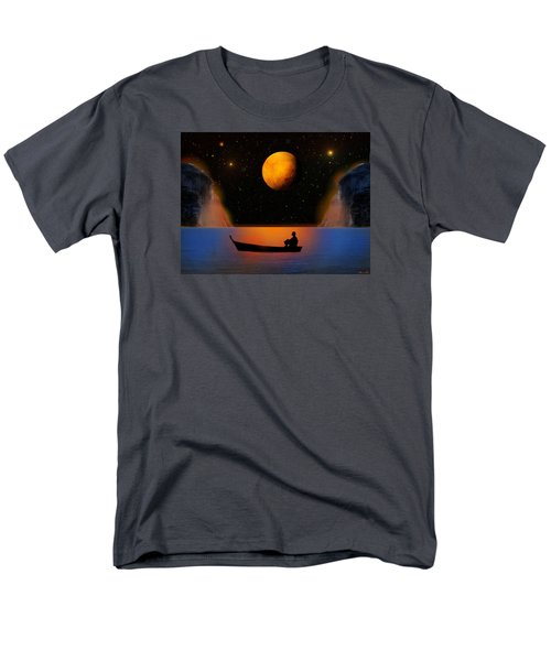 Men's T-Shirt  (Regular Fit) featuring the photograph Beyond The Stars by Bernd Hau