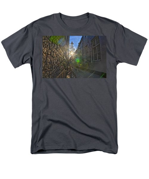 Bicycle Alley Men's T-Shirt  (Regular Fit) by Frans Blok