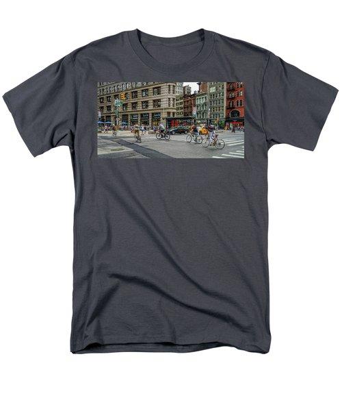 Bicycle Ballet  Men's T-Shirt  (Regular Fit) by Jeffrey Friedkin