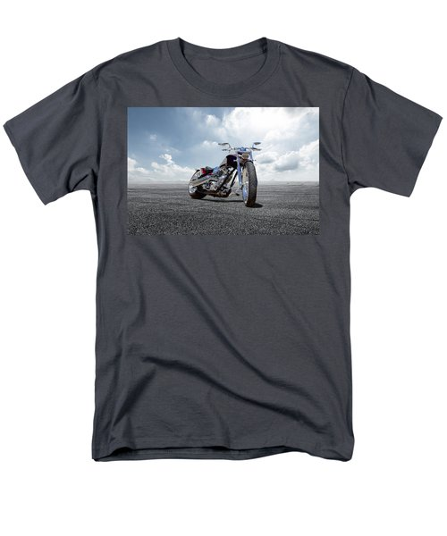 Men's T-Shirt  (Regular Fit) featuring the photograph Big Dog Pitbull by Peter Chilelli