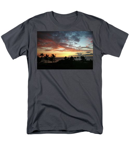 Men's T-Shirt  (Regular Fit) featuring the photograph Big Island Sunset #2 by Anthony Jones