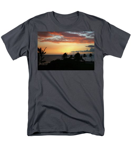 Men's T-Shirt  (Regular Fit) featuring the photograph Big Island Sunset by Anthony Jones