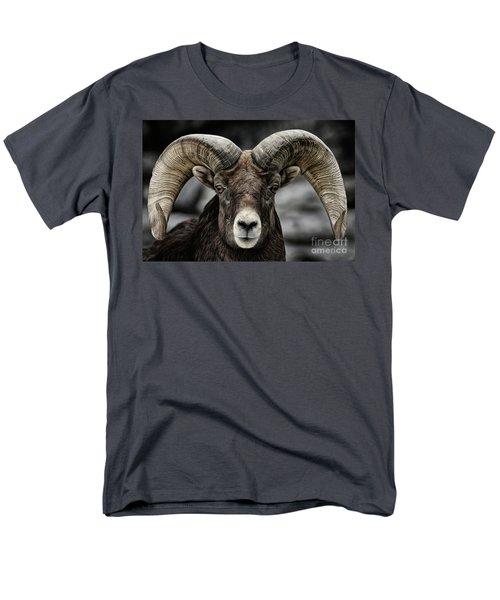 Bighorn Ram Men's T-Shirt  (Regular Fit) by Brad Allen Fine Art