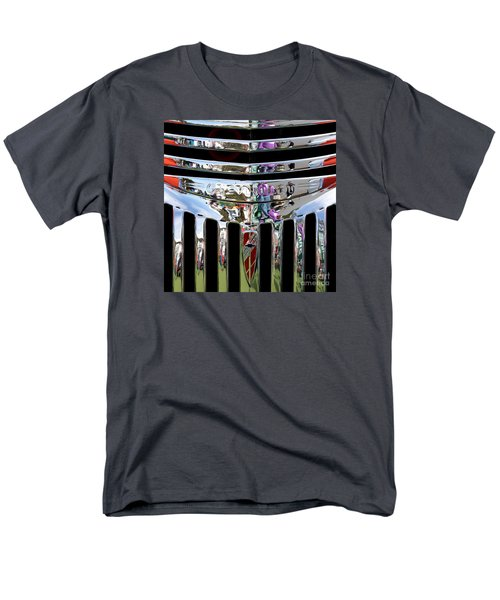 Chevrolet Grille 03 Men's T-Shirt  (Regular Fit) by Rick Piper Photography