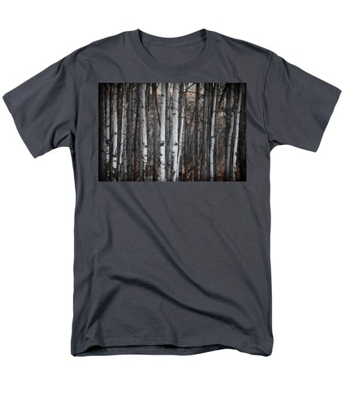 Birches Men's T-Shirt  (Regular Fit) by Diane Dugas