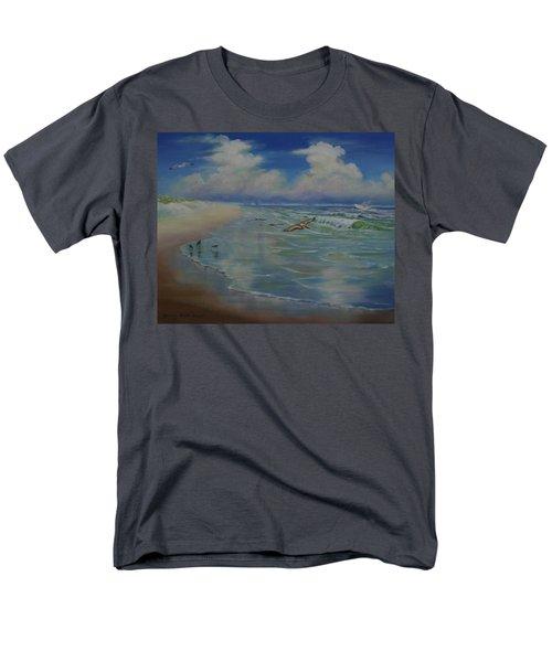Bird-brains Men's T-Shirt  (Regular Fit) by Dorothy Allston Rogers