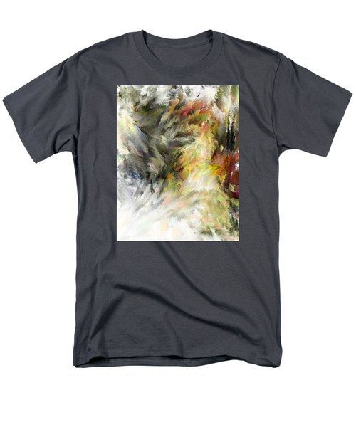 Birth Of Feathers Men's T-Shirt  (Regular Fit) by Dale Stillman