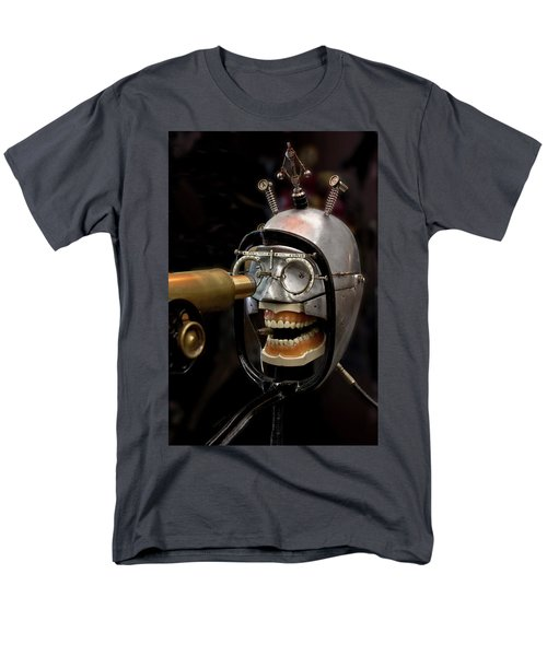 Bite The Bullet - Steampunk Men's T-Shirt  (Regular Fit) by Betty Denise