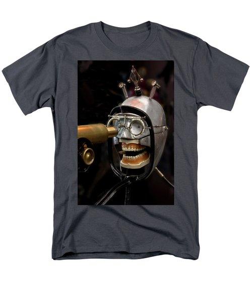 Bite The Bullet - Steampunk Men's T-Shirt  (Regular Fit) by Betty Denise