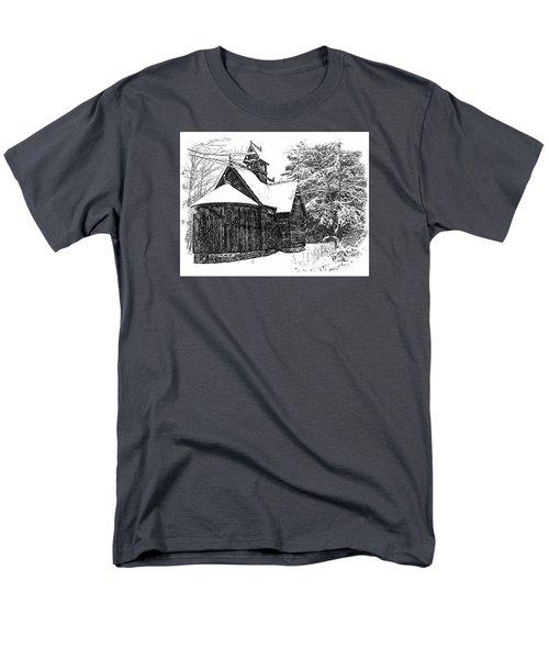 Boynton Chapel Men's T-Shirt  (Regular Fit) by Jim Rossol