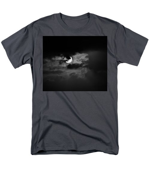 Black And Grey Men's T-Shirt  (Regular Fit) by John Glass