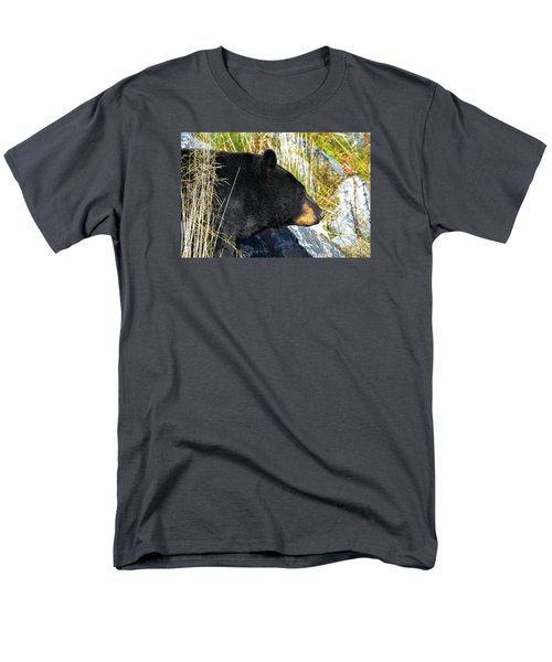 Black Bear Men's T-Shirt  (Regular Fit) by Brian Stevens