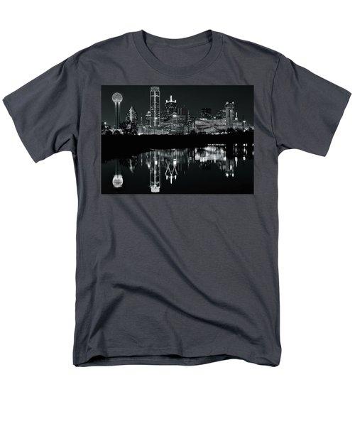 Blackest Night In Big D Men's T-Shirt  (Regular Fit)