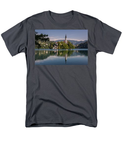 Men's T-Shirt  (Regular Fit) featuring the photograph Bled by Davorin Mance