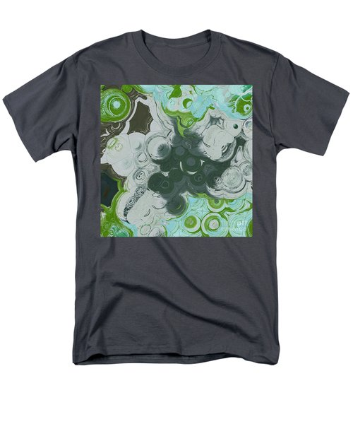 Men's T-Shirt  (Regular Fit) featuring the digital art Blobs - 13c9b by Variance Collections